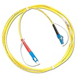 Fluke Networks SRC-9-SCLC Singlemode Test Reference Cord for Testing LC Terminated Fibers, 2m Length, SC/LC Male Network, Fiber Tester Accessory