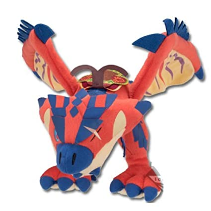The most lottery Monster Hunter Stories ride on A prize ot Mont Rioreusu stuffed toy by