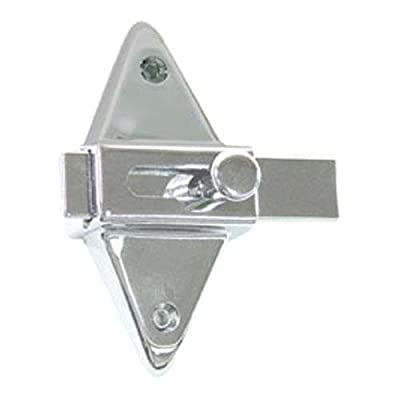 Generic 38100 Partition Stall Latch For Restroom Bathroom Door (One Only) Chrome