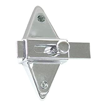 Generic 38100 Partition Stall Latch For Restroom Bathroom Door One Only Chrome