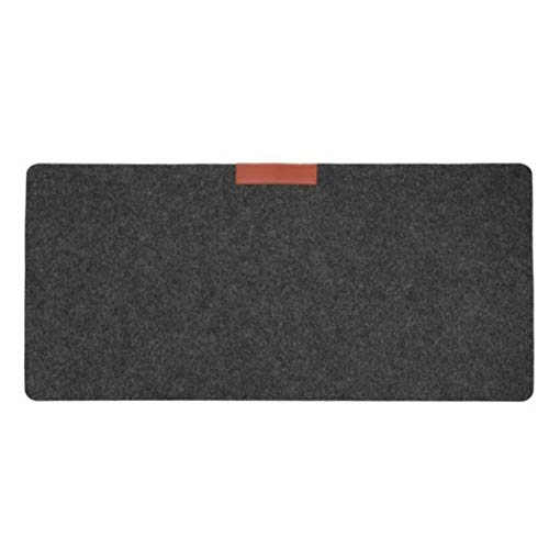 Gijoki Large Felt Desk Mat Office Mouse Keyboard Pad Gamer Mousepad Mat Mouse Pads from Gijoki