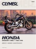 Clymer Repair Manual for Honda VT1100C Shadow 85-96