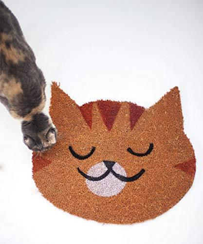 Felpudo Gato cabeza - Elena Kaede