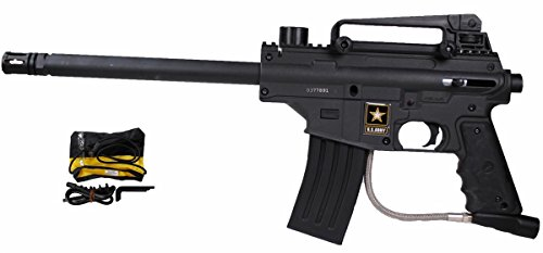US Army Alpha Elite Paintball Marker, Black