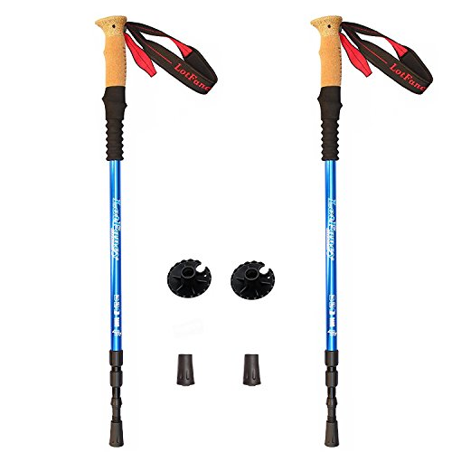 LotFancy Trekking Poles Ultralight Adjustable