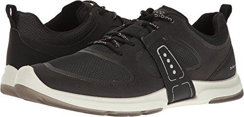 ECCO Women's Biom AMRAP Tie Fashion Sneaker, Black, 41 EU/10-10.5 M US
