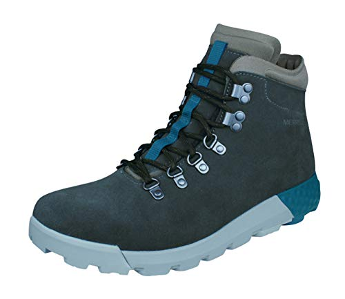 Boots Mens Leather Wilderness Breathable Walking Grey Ac Hiking Merrell 0qad0