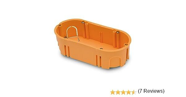 FAMATEL 3256 - Caja empotrar pladur 67x39 doble: Amazon.es ...