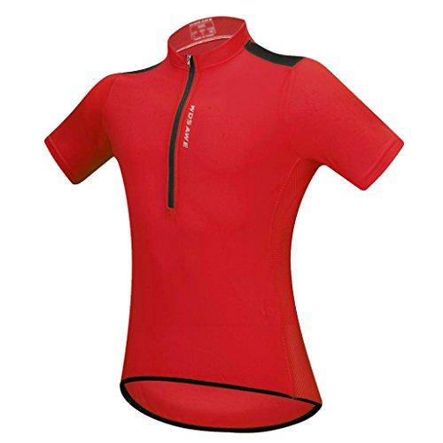[해외] Homyl 사이클링 반소매 (jersey)저지 톱 T셔츠 자전거의 복전4 색5사이즈