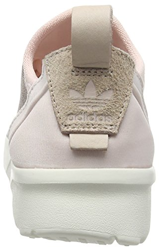 Adidas Originali Da Donna Originali Zx Flux Adv Virtue Calzino Trainer Alone Us7.5 Rosa