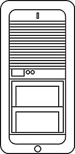 Siedle&Söhne Schlüssel 200005162-00 si, für VARIO 511 Erweiterungskomponente...