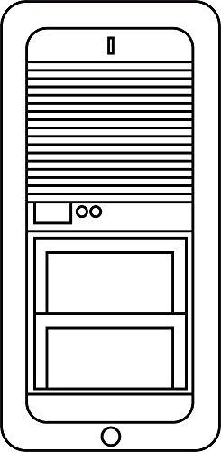Siedle&Söhne Schlüssel 200005162-00 si, für VARIO 511 Erweiterungskomponente für Tür-/Videosprechanlage 4015739051625