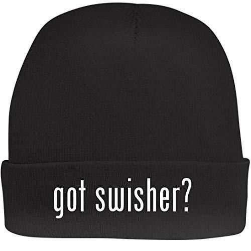 Shirt Me Up got Swisher? - A Nice Beanie Cap, Black, ()