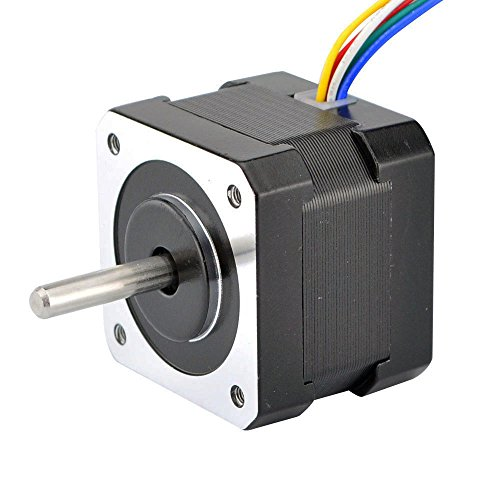 STEPPERONLINE Nema 17 Step Motor Unipolar 1.8 deg 0.31A 22.4oz.in/15.8Ncm 6-lead for Extruder Motor/DIY 3D Printer by STEPPERONLINE