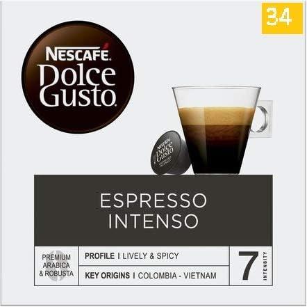 Nestle Pack 3 Cajas Dolce Gusto ESPRESO Intenso X34: Amazon.es: Hogar