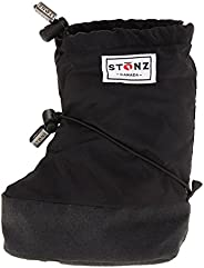 Stonz Winter Booties Baby/Infant/Toddler Boys and Girls - Three Season Stay-On Snow Boots - Over Bare Feet or