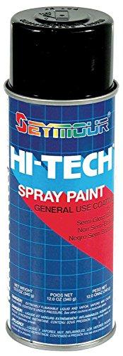 Seymour 16-139 1 Pack Hi-Tech Enamels Semi-Gloss Black Paint ()
