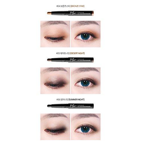 [KARADIUM] Fullmoon Stick Eye Shadow 1.4g - 6 Colors/Daily Eye Makeup (#6 Summer Night) by KARADIUM (Image #6)