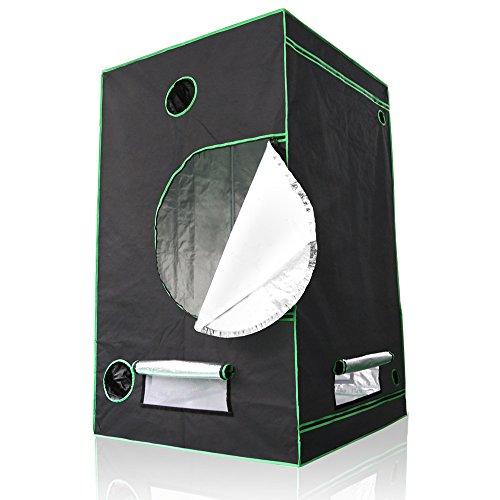 Lumin Tekco™ Hydroponic Indoor Grow Tent, Mylar Hydroponic Grow Room for Efficient Indoor Plant Growth 48
