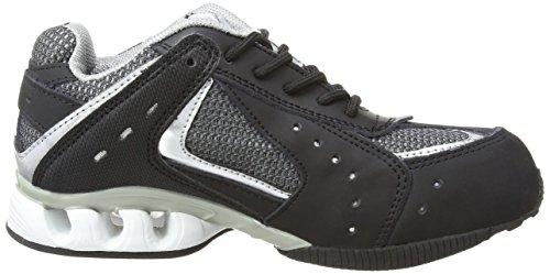 Work - Chaussures De Sécurité 1277.1 Unisex - Adulte, Noir (noir / Argent), 44 (10 Uk)