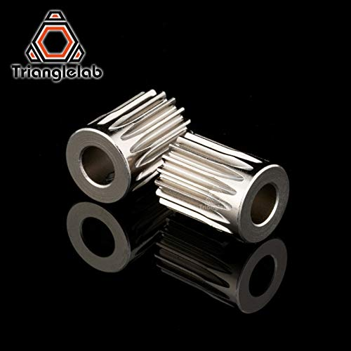 3D Printer - Trianglelab Hardened Steel BMG Extruder GAER Pinion Gear  5mm/0 5M 17T for Extruder Motor Gaer for Extrusion Wheel Titan - (Size: 1PC)
