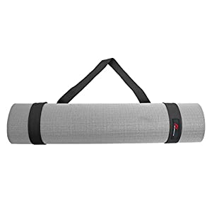 """Prosource Fit Yoga Mat Carrying Sling, Easy Adjustable Carry Strap 60"""" Long Cotton (5 Colors to Choose From)"""