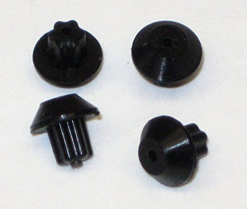 Gas Range Burner Grate Foot, Rubber, Pack of 4 for GE WB2K101 -  ERP