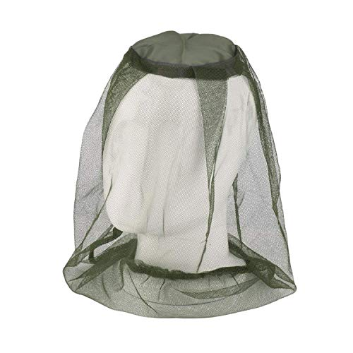 VANTOO Mosquito Mask-Mosquito Head Net Face Neck Protection-Anti Mosquito Anti-Bite Anti-Insect Olive (1)
