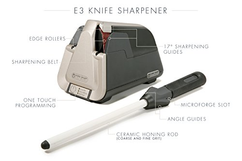 Work Sharp Culinary E3 Electric Kitchen Knife Sharpener