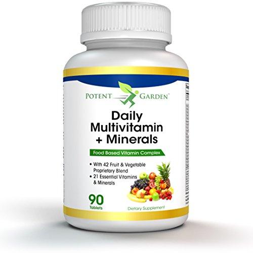 Best Natural Multivitamin Mineral Supplement