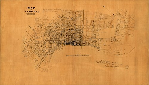 Map: 1860 of Nashville, Tennessee|Buildings|Buildings|Structures|Etc|Nashville|Nashville - Georgia Best Store Buy Locator