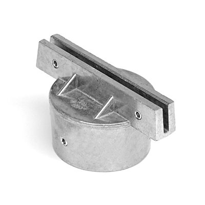 Round Post Bracket for Street Sign, Aluminum Hardware Street Sign Posts
