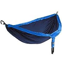 Eagles Nest Outfitters - ENO DoubleNest Hammock, hamaca portátil para dos, azul marino /real