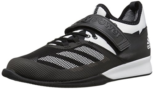 adidas Performance Men's Shoes | Crazy Power Cross-Trainer, Black/White/Black, (14 M US)