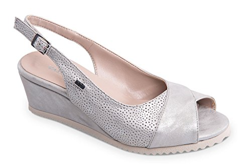 VALLEVERDE VALLEVERDE Fashion Women's Women's Sandals Silver 15q0ZwZH