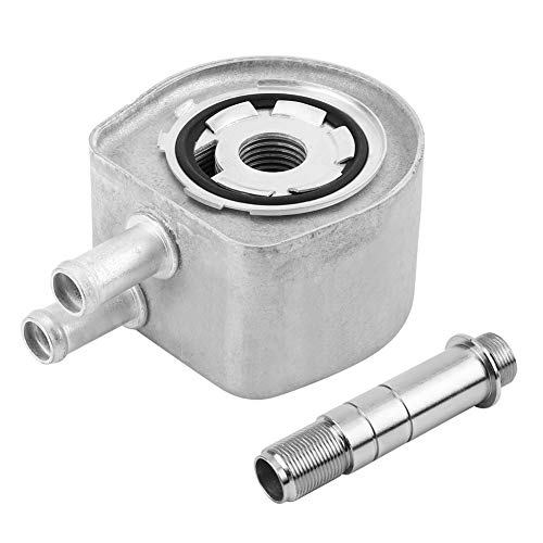 Jadeshay Filtro de Aceite del Enfriador de Aceite del Motor del Coche para Ford E550 F150 F250 F350 F450 F5UZ6A642HA