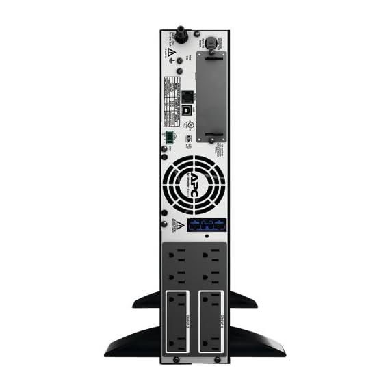 Smart-UPS Extended Run Rack/Tower Convertible 2 High-Efficiency Green Mode Sine Wave Output Extendable Runtime