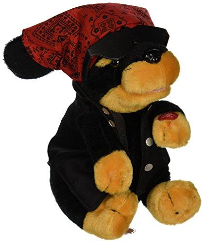 "Chantilly Lane Chopper Dog Sings Born to Be Wild Plush Toy, 10"" from Chantilly Lane"