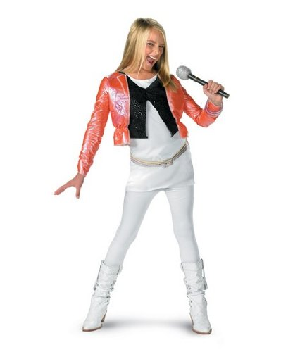 Disney Hannah Montana Pink Costume - Child Costume - Medium (7 (Hannah Montana Halloween Costumes)