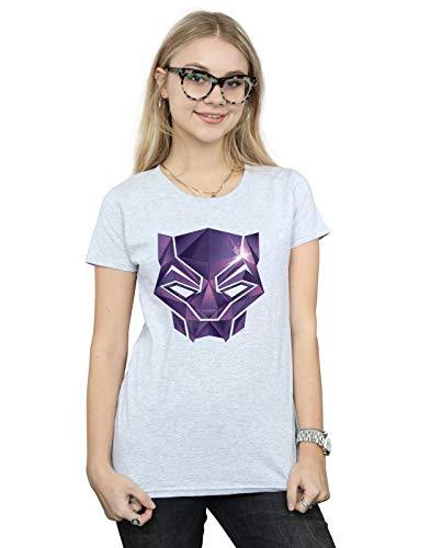 Infinity Camiseta Avengers Grey Geometric Black deportiva Women Marvel Panther 6Iq8xwItrn