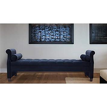 Swell Amazon Com Brika Home Roll Arm Sofa Bed With Bolster Inzonedesignstudio Interior Chair Design Inzonedesignstudiocom