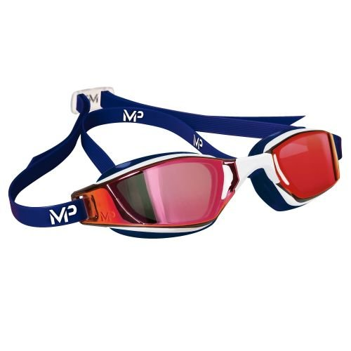 Blue Competition Cycles - MP Michael Phelps Xceed (6) Goggle, Blue/White