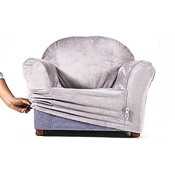 Amazon Com Keet Roundy Kid S Chair Gingham Navy Baby