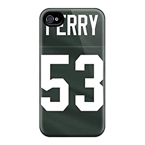 Iphone 4/4s JAI2529dCQF Allow Personal Design Beautiful Green Bay Packers Image Best Hard Phone Case -JoanneOickle