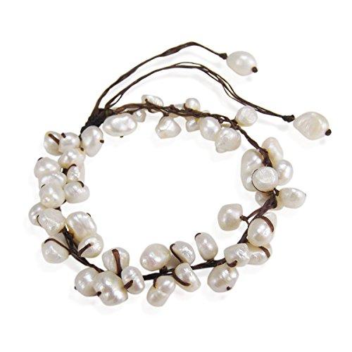 De Douce Perles Culture Summer Breeze Cheville Perle Blanc Aeravida D'eau Pull aY60xPEq