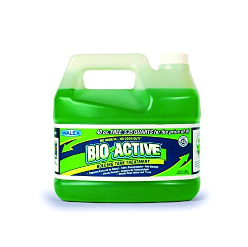 Fragrance Active Enzyme (Walex BIO-72168 Bio-Active Holding Tank Deodorizer Tip and Pour Bottle (168 oz.))