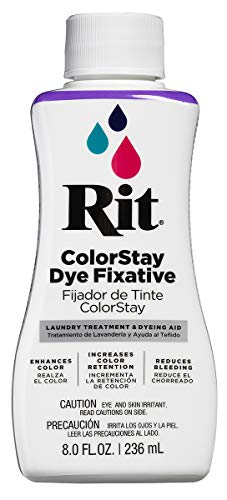 - Rit ColorStay Dye Fixative