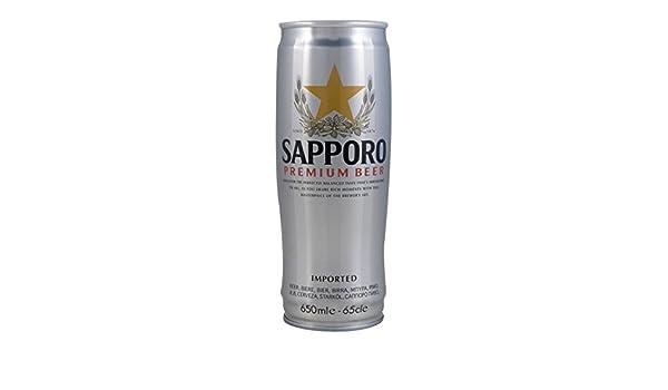 Cerveza Sapporo Silver Lata Sapporo 650 Ml.: Amazon.es: Alimentación y bebidas