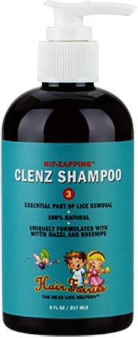 Hair Fairies Head Lice and Nit Zapping Clenz Shampoo