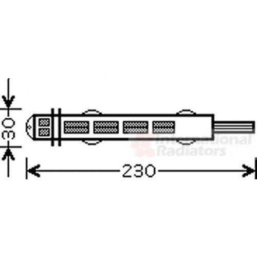 Van Wezel 4300D431 Sistemas de Aire Acondicionado
